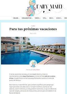 Para tus próximas vacaciones