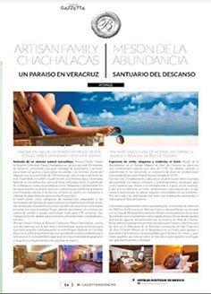 ARTISAN FAMILY CHACHALACAS Y MESÓN DE LA ABUNDANCIA UN PARAÍSO EN VERACRUZ SANTUARIO  DEL DESCANSO