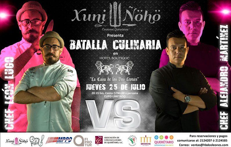 Batalla Culinaria en Querétaro