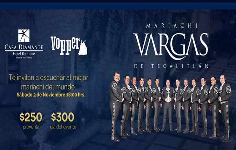 Mariachi Vargas en Casa Diamante, ¡no te lo puedes perder!