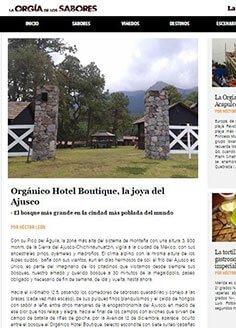 Orgánico Hotel Boutique, la joya del Ajusco