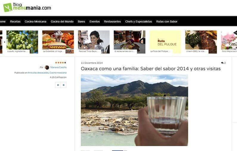 Oaxaca como una familia: Saber del sabor 2014 y otras visitas