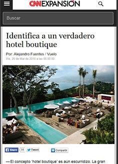 Identifica a un verdadero hotel boutique