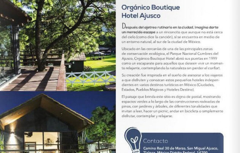 Organico Boutique Hotel Ajusco
