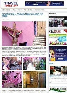 EN SACRISTÍA DE LA COMPAÑÍA TAMBIÉN VIAJARÁS EN EL TIEMPO
