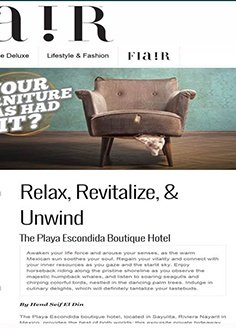 Relax, Revitalize, Unwind! The Playa Escondida Boutique Hotel