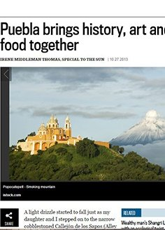 Puebla brings history, art and food together