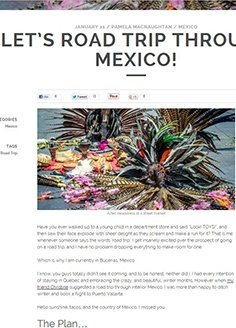 Let's Road Trip Through Mexico!