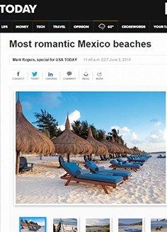 Most romantic Mexico beaches / USA Today