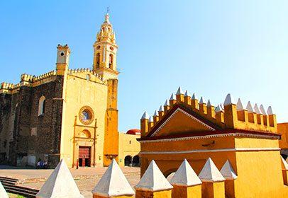 Cholula y Puebla