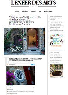 Villa Toscana Val`Quirico Lofts & Suites adquiere la certificación de Hoteles Boutique de México