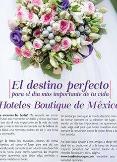 El destino perfecto para el día más importante de tu vida – Hoteles Boutique de Mexico