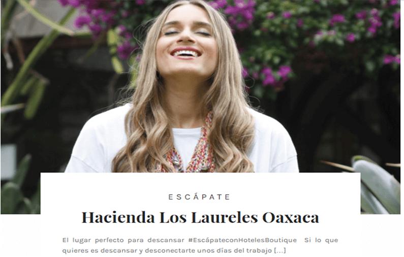 Hacienda Los Laureles Oaxaca