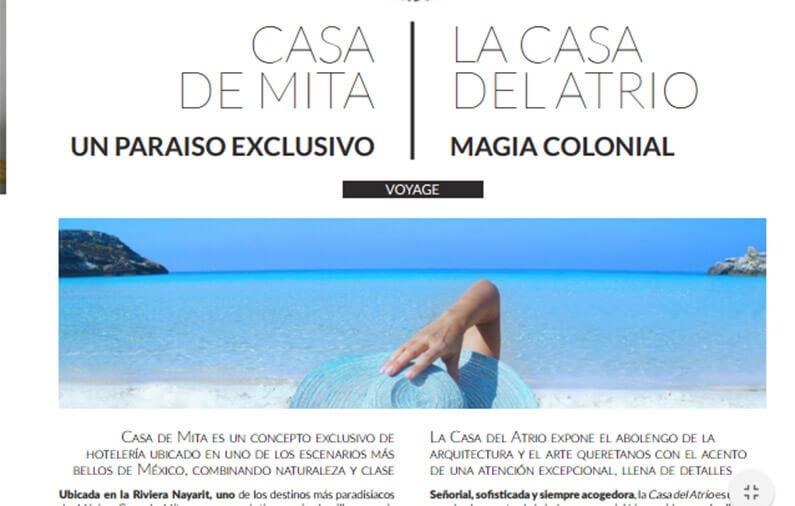 CASA DE MITA, UN PARAÍSO ESCONDIDO – LA CASA DEL ATRIO, MAGIA COLONIAL