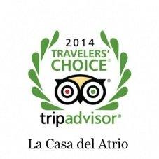 La Casa del Atrio Traveler's Choice 2014