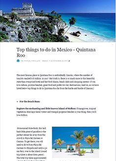 Top things to do in Mexico – Quintana Roo