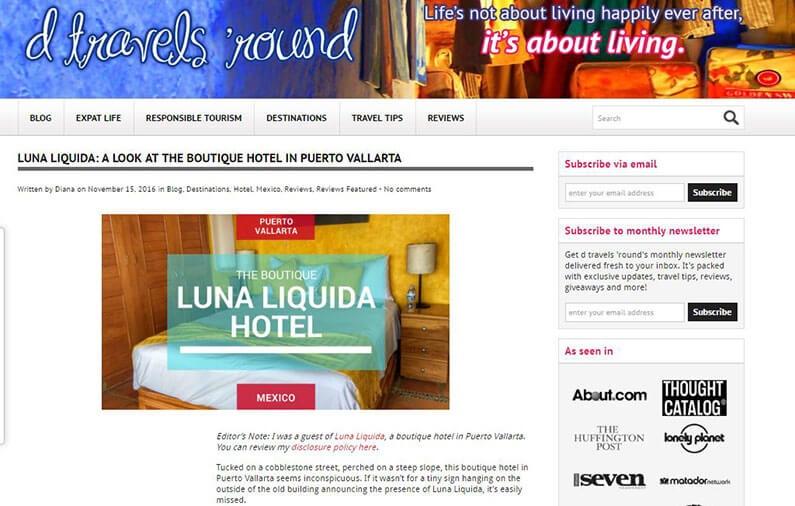 LUNA LIQUIDA: A LOOK AT THE BOUTIQUE HOTEL IN PUERTO VALLARTA