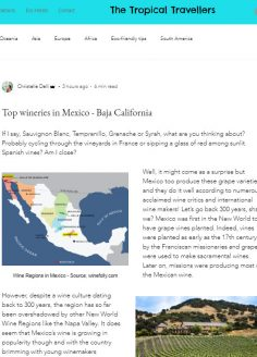 Top wineries in Mexico – Baja California