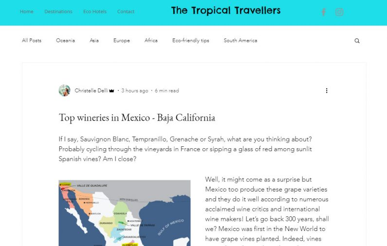 Top wineries in Mexico – Baja California